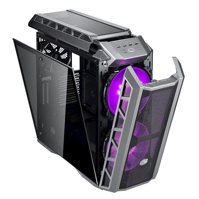 Gabinete Cooler Master MasterCase H500P Mesh, RGB, Cristal Templado, MCM-H500P-MGNN-S10