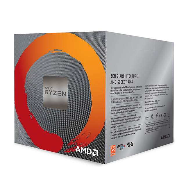 Procesador AMD Ryzen 7 3700X, 8 Cores, 16 Threads, 3.6Ghz Base, 4.4Ghz Max, Socket AM4, Wraith Prism with RGB LED