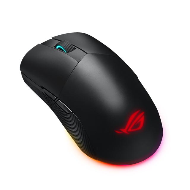 Mouse Asus ROG Pugio ll Wireless, Inalambrico, 16000 DPI, 7 Botones, Aura Sync, RGB, PMW3335