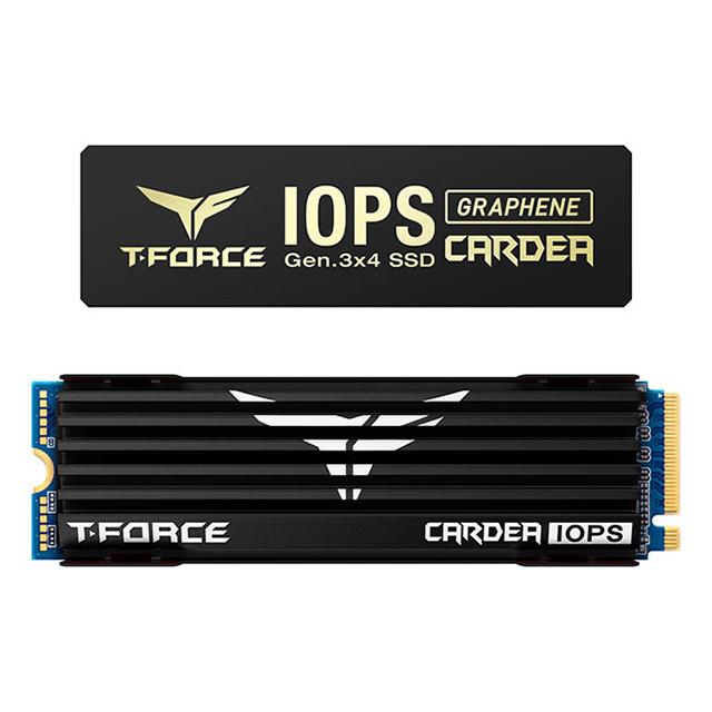 Unidad de Estado Solido SSD NVMe M.2 Teamgroup Cardea IOPS 1TB, 3400/3000, PCIe Gen3 x4 - TM8FPI001T0C322