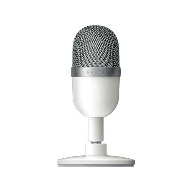 Microfono Razer Seiren Mini Mercury, Plug-And-Play USB - RZ19-03450100-R3U1