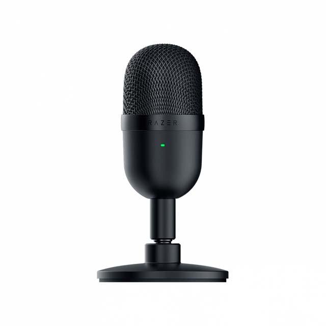 Microfono Razer Seiren Mini Black, Plug-And-Play USB - RZ19-03450100-R3U1