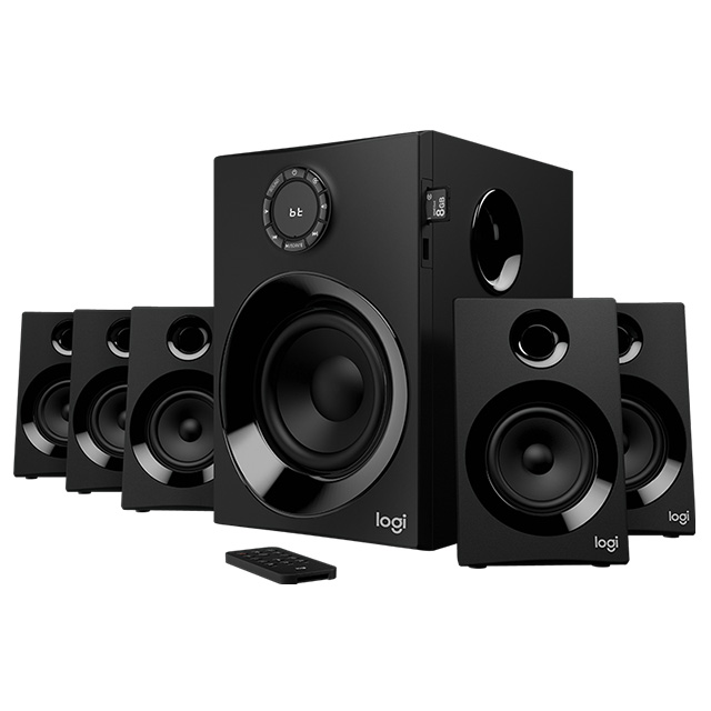 Bocinas Logitech Z607 Bluetooth - 5.1 Canales - 980-001315