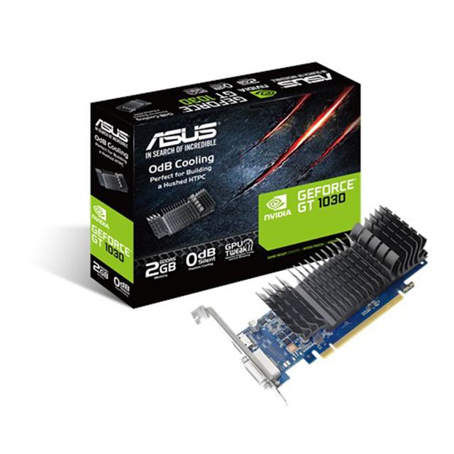 Tarjeta de Video Nvidia Asus GeForce GT 1030 2GB DDR5 - GT1030-2G-CSM