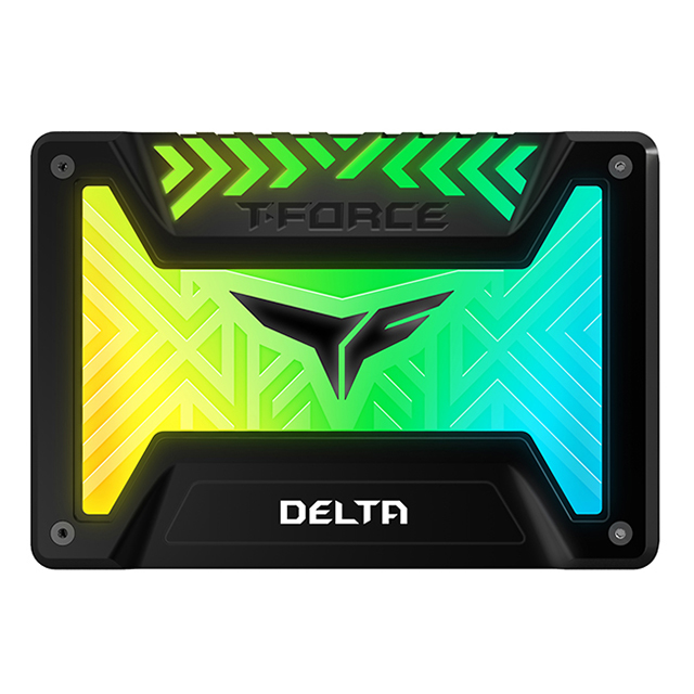 Unidad de Estado Solido SSD Teamgroup T-Force Delta RGB 5v, Negro, 250GB, 560/500 MB/s, SATA, ARGB - T253TR250G3C313