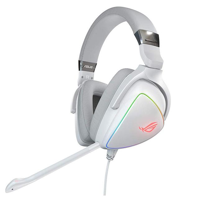 Diadema Asus ROG Delta White, USB, USB-C, PC, MAC, Móviles, PS4, Switch, Alambrico