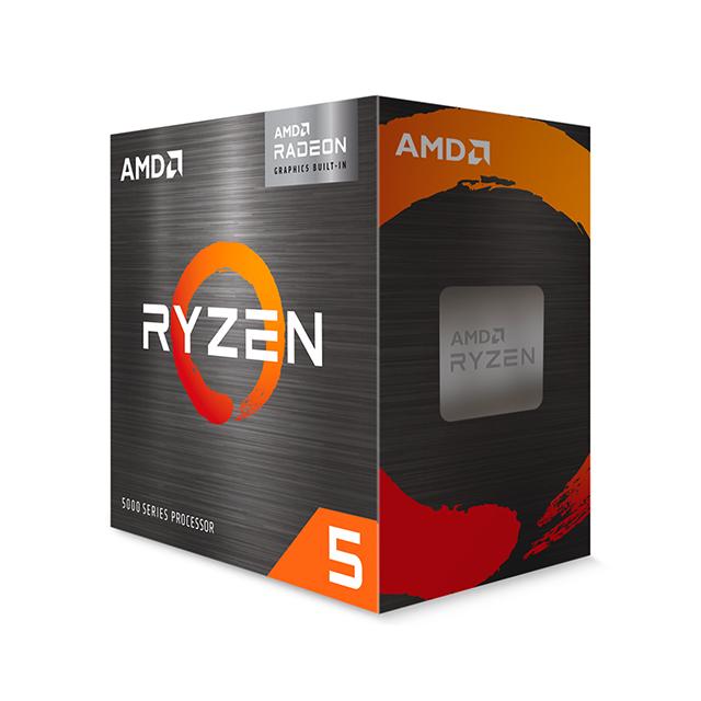 Procesador AMD Ryzen 5 5600G, 6 Cores, 12 Threads, Radeon 7 Graphics, 3.9Ghz Base, 4.4Ghz Max, Socket AM4, Wraith Stealth - 100-100000252BOX