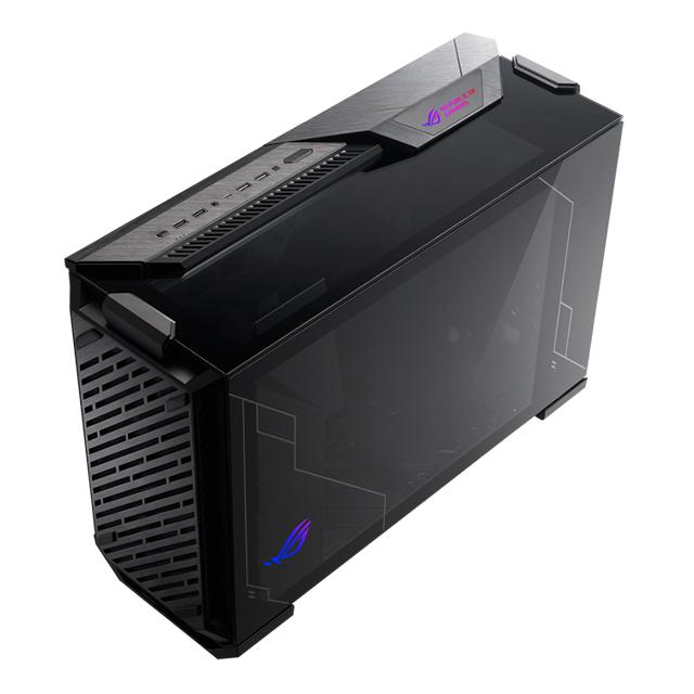 Gabinete Asus ROG Z11, Cristal Templado, Aura Sync, Mini-ITX - Mini-DTX - ROG Z11