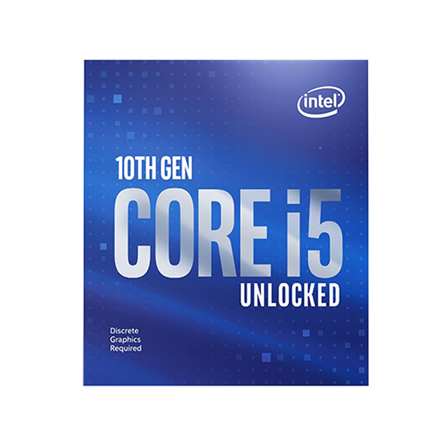 Procesador Intel Core i5 10600KF, 6 Cores, 12 Threads, 4.10Ghz Base, 4.80Ghz Turbo, 12MB, Socket LGA1200 (OEM)