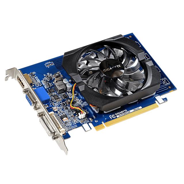 Tarjeta de Video Nvidia Gigabyte Geforce GT 730, 2GB DDR3 - GV-N730D3-2GI (rev. 3.0)