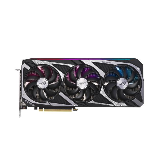 Tarjeta de video Nvidia Asus ROG Strix GeForce RTX 3060 V2 OC Edition 12GB GDDR6, Aura Sync - ROG-STRIX-RTX3060-O12G-V2-GAMING - (Venta exclusiva por transferencia electrónica o depósito bancario)