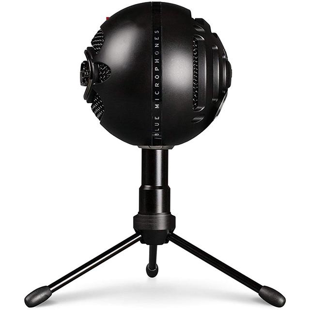 Microfono Blue SnowBall Ice Negro, Plug-And-Play USB (Logitech)