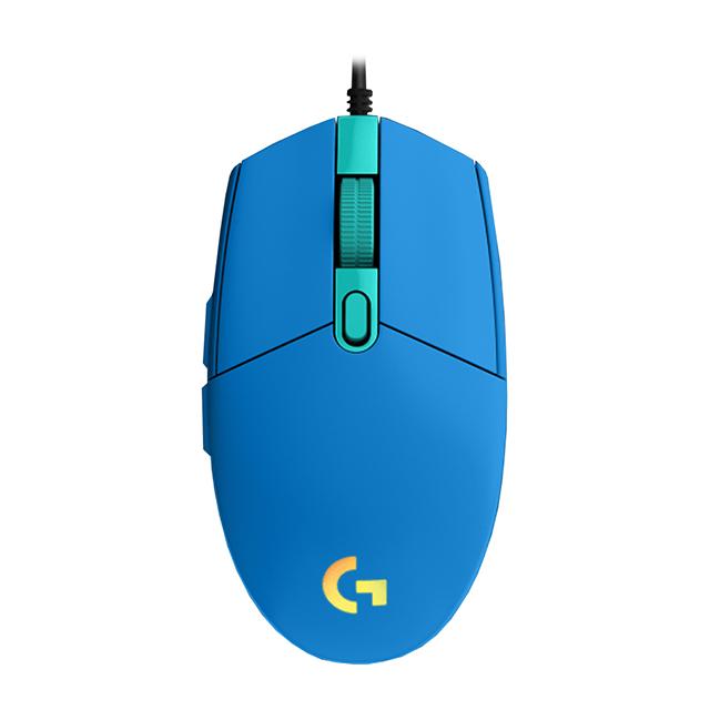 Mouse Logitech G203 Lightsync Azul, Alámbrico, 8,000 DPI - 910-005795