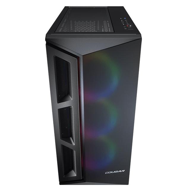 Gabinete Cougar Darkblader X5 RGB, E-ATX, Cristal Templado, Negro Translucido, 3 Ventilador ARGB VK120