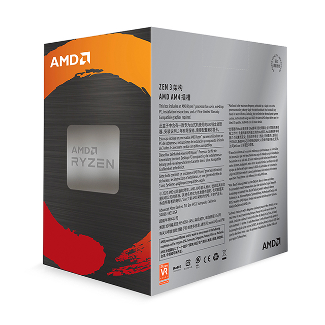 Procesador AMD Ryzen 9 5950X, 16 Cores, 32 Threads, 3.4Ghz Base, 4.9Ghz Max, Socket AM4