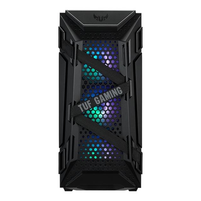 Gabinete Asus TUF Gaming GT301, Cristal Templado, 3 Ventiladores ARGB, Aura Sync, ATX