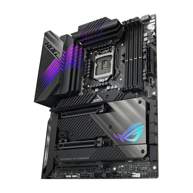 Tarjeta Madre Asus ROG Maximus XIII Hero, 10-11 Gen Intel, DDR4 5333Mhz OC, ATX, Wi-Fi, Bluetooth, 4x M.2, Crossfire, SLI