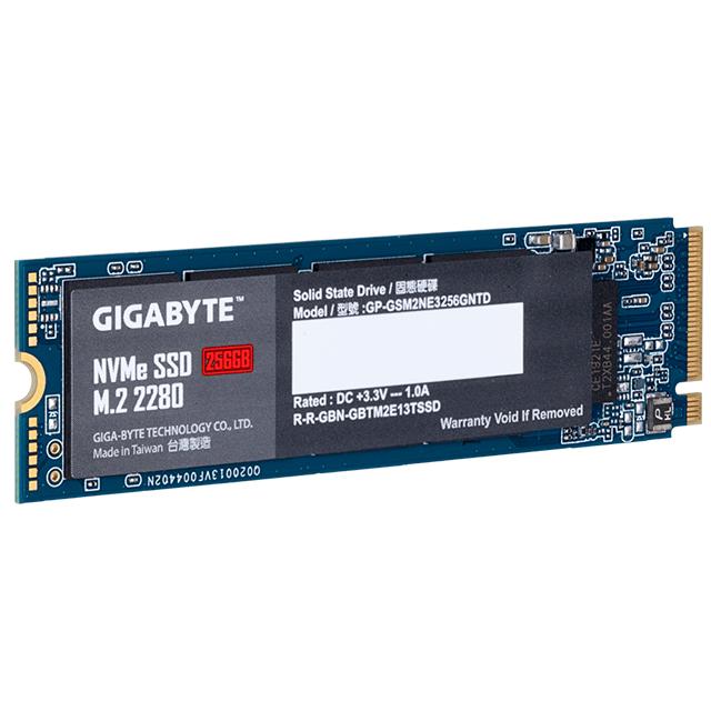 Unidad de Estado Solido SSD NVMe M.2 Gigabyte 256GB, 1700/1100, PCI Express 3.0 - GP-GSM2NE3256GNTD