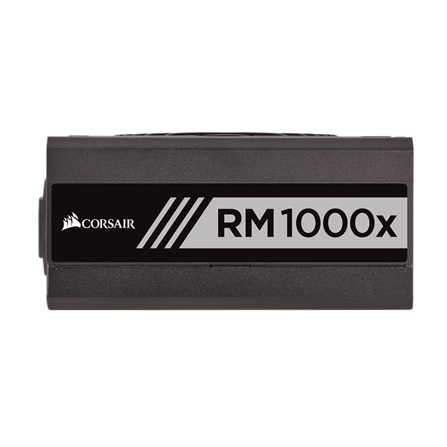Fuente de Poder Corsair RM1000x, 1000W 80 Plus Gold, Full Modular, (Refurbished - 30 Dias de Garanita) - CP-9020094-NA/RF