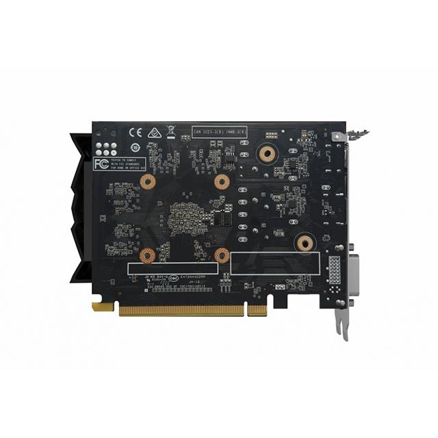 Tarjeta de Video Nvidia Zotac Gaming GeForce GTX 1650 AMP 4GB GDDR6 - ZT-T16520D-10L - (Venta exclusiva por transferencia electrónica o depósito bancario).