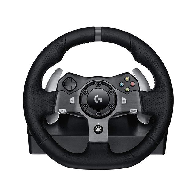 Volante Logitech G920 Driving Force - Xbox Series X|S / Xbox One / PC - 941-000122