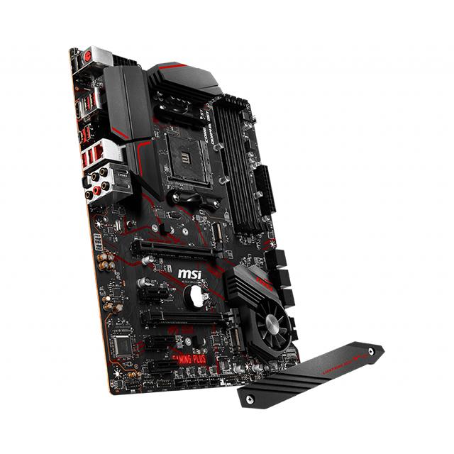 Tarjeta Madre MSI MPG X570 Gaming Plus, ATX, AM4, DDR4 4400 Mhz OC, Dual M.2, Crossfire