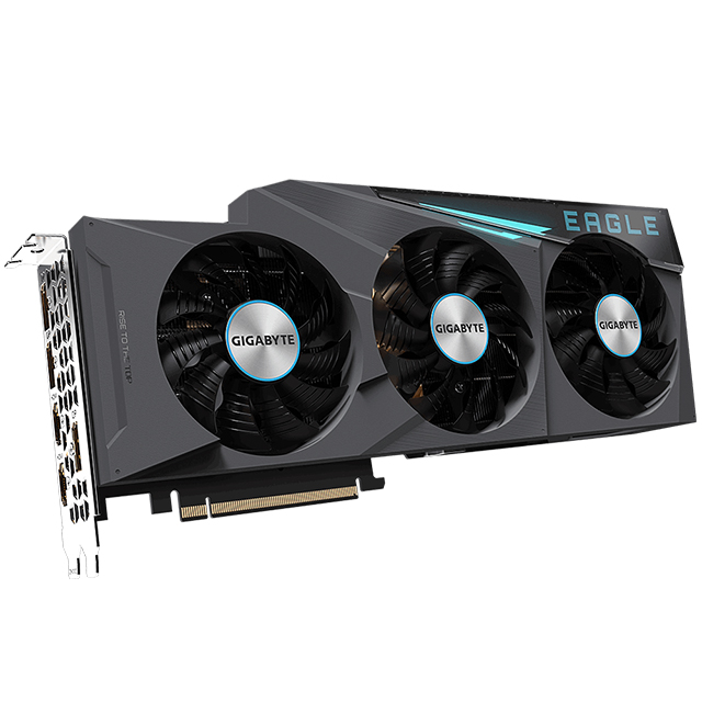 Tarjeta de video Nvidia Gigabyte Geforce RTX 3080 Eagle OC 10G, 10GB GDDR6X, RGB Fusion 2.0