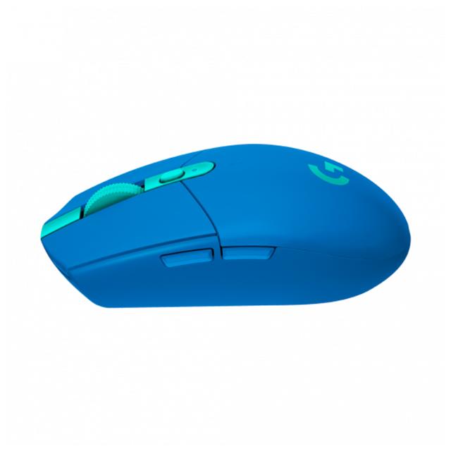 Mouse Logitech G305 Lightspeed, Azul, Inalámbrico, 12,000 DPI - 910-006013