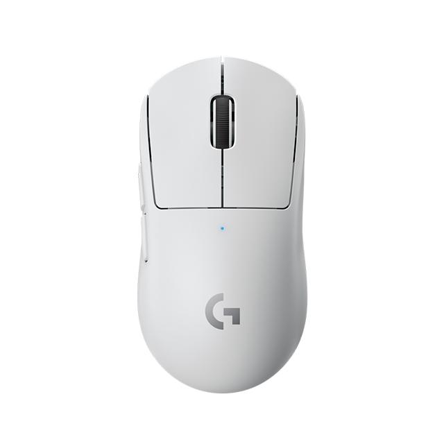 Mouse Logitech PRO X Superlight Blanco, Lightspeed, Ultra Ligero, Inalámbrico, Sensor Hero 25K - 910-005941