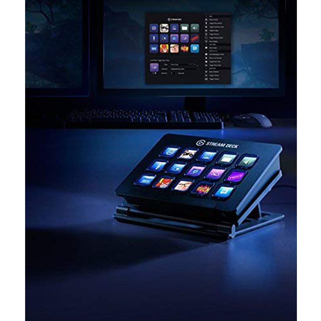 Stream Deck El Gato - 15 Teclas LCD Personalizables