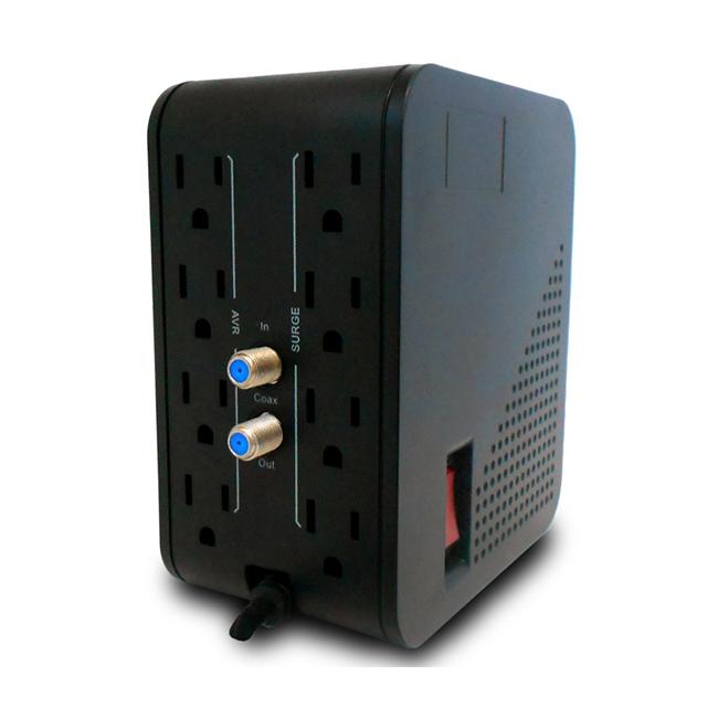Regulador CDP R2C-AVR 1008, 1000VA, 500W, 8 Contactos
