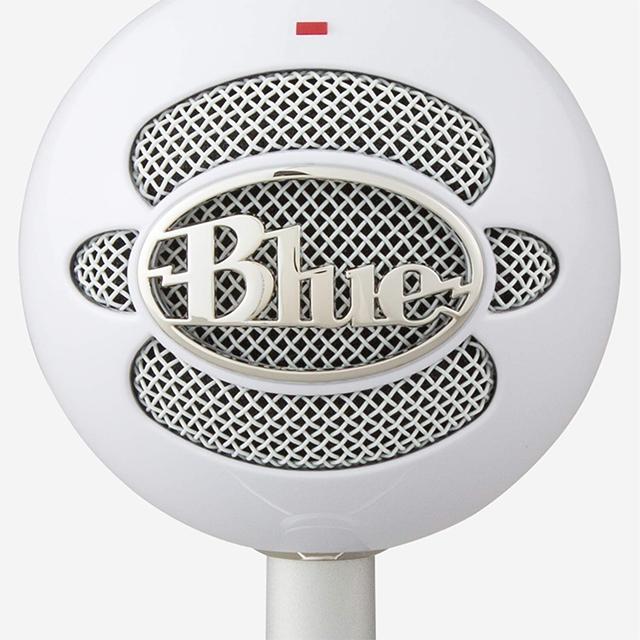 Microfono Blue SnowBall Ice Blanco, Plug-And-Play USB (Logitech)