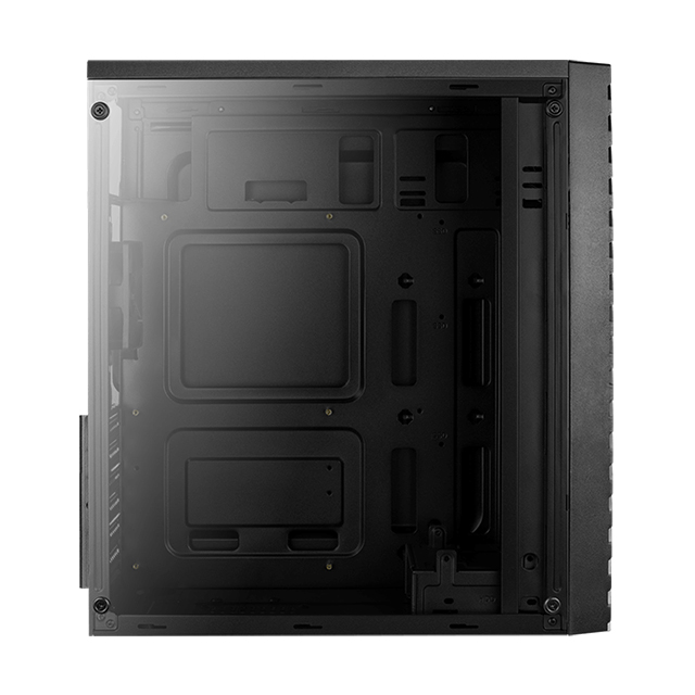 Gabinete Aerocool Streak RGB, Negro, Panel de Acrilico, ATX -  (Venta limitada a 1 pieza por cliente)