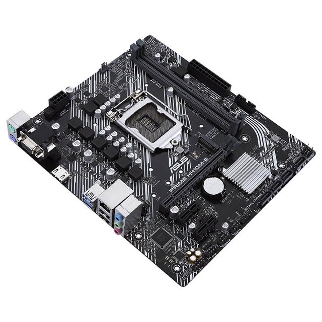 Tarjeta Madre Asus Prime H410M-E, 10th Gen Intel, LGA 1200, Micro ATX, DDR4 2933Mhz, M.2