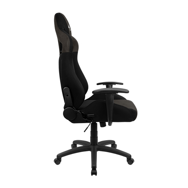 Silla Gamer Aerocool Earl Iron Black, AeroSuede, Reclinable, 4D