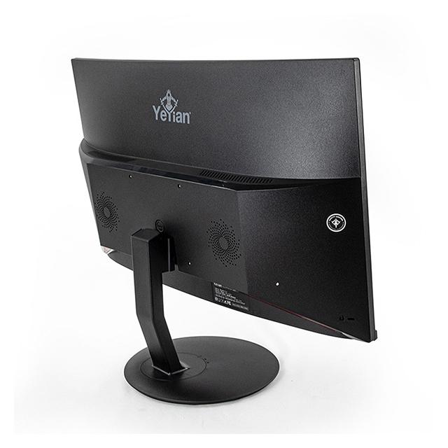 """Monitor Yeyian Sigurd Series 2500, YMS-70801, 23.6"""", 1920 x 1080, HDMI, Displayport, 1MS, 144Hz, AMD Freesync, Curvo"""