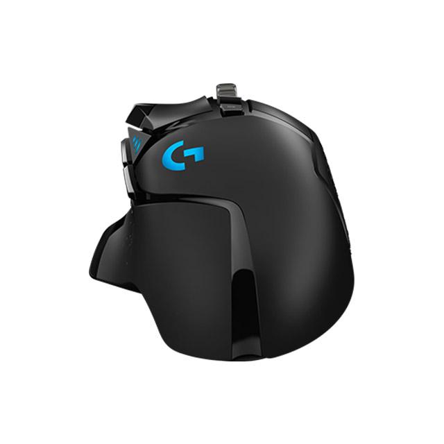 Mouse Logitech G502 Hero, Alámbrico, 16,000 DPI