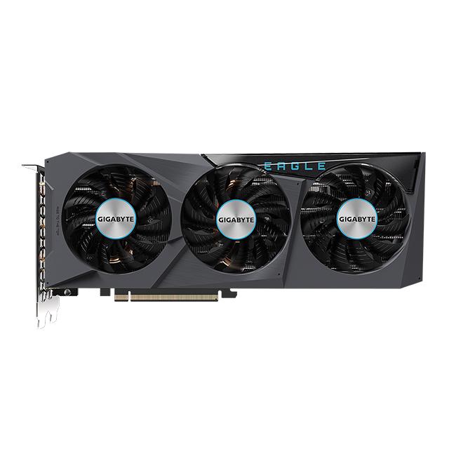 Tarjeta de video Nvidia Gigabyte Geforce RTX 3070 Eagle OC 8G Windforce 3X RGB Fusion 2.0, 8GB GDDR6 - GV-N3070EAGLE OC  (Para venta exclusiva en ensamble)