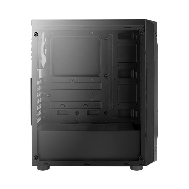 Gabinete Aerocool Sentinel, Cristal Templado, 4 Ventiladores ARGB, ATX - 4718009158696