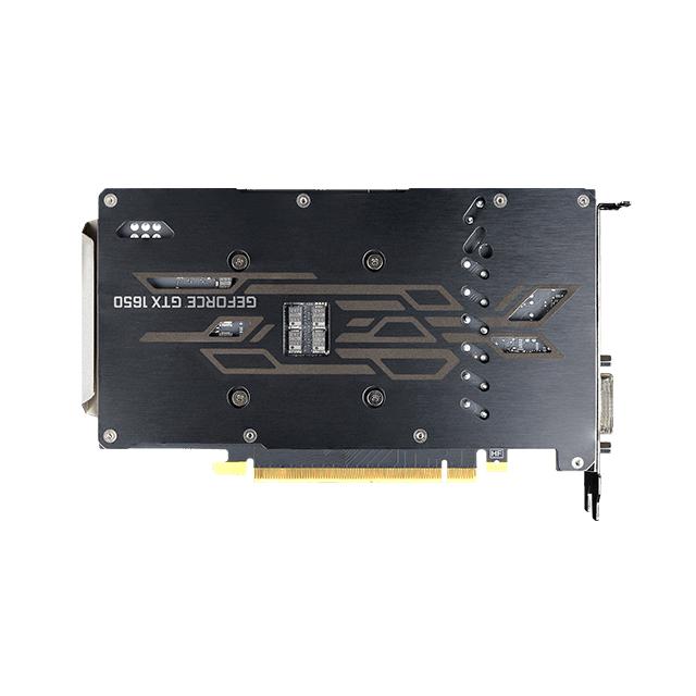 Tarjeta de Video Nvidia EVGA GeForce GTX 1650 KO Ultra, 4GB GDDR6, Metal Blackplate - 04G-P4-1457-KR
