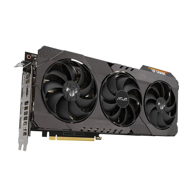Tarjeta de video Nvidia Asus TUF Gaming Geforce RTX 3070 OC Edition, 8GB GDDR6, RGB - TUF-RTX3070-O8G-GAMING - (Venta exclusiva por transferencia electrónica o depósito bancario)