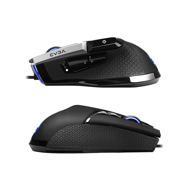 Mouse Gamer EVGA X17, Alambrico, 16,000 DPI, 10 Botones, Pixart 3389 Optico - 903-W1-17BK-KR