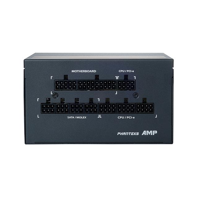 Fuente de Poder Phanteks AMP 650, 650W 80 Plus Gold, Full Modular - PH-650G-US