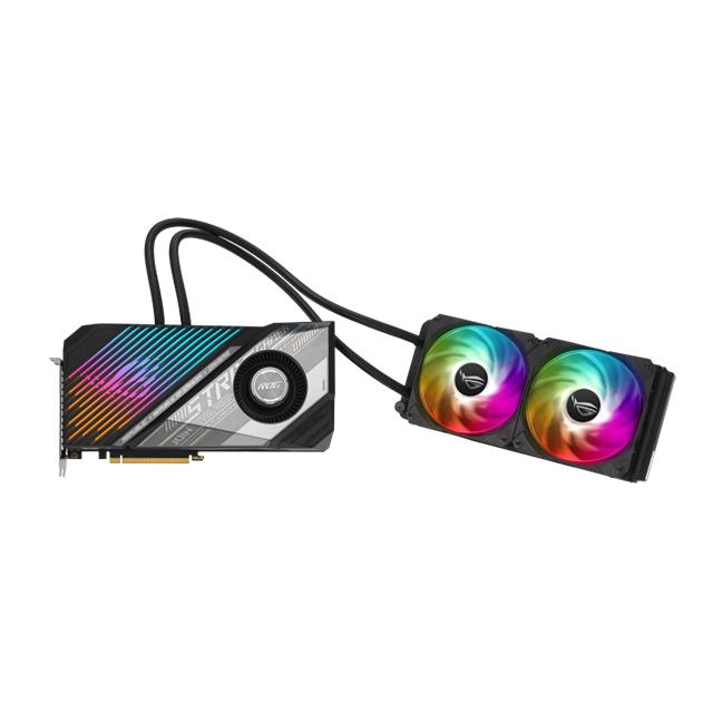 Tarjeta de video AMD Asus ROG Strix LC Radeon RX 6800 XT 16GB GDDR6, Enfriamiento liquido leviathan 240mm, Aura Sync - ROG-STRIX-LC-RX6800XT-O16G-GAMING - (De venta exclusiva por transferencia electrónica o depósito bancario)