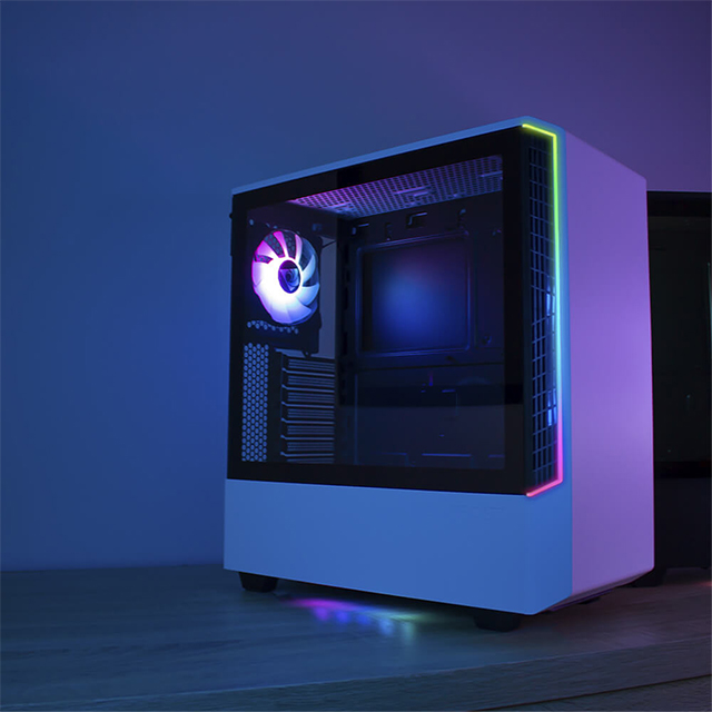 Gabinete Munfrost Panda Blanco RGB, ATX, Cristal Templado, 1 Ventilador ARGB