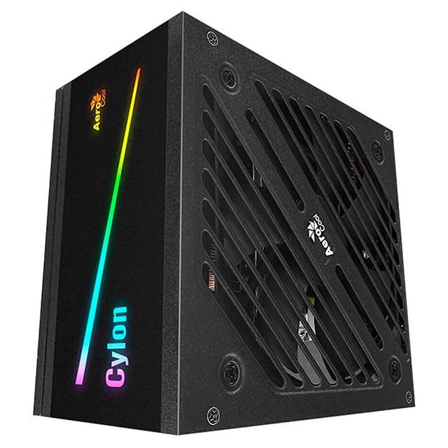 Fuente de Poder Aerocool 600W 80 Plus Bronze Cylon RGB
