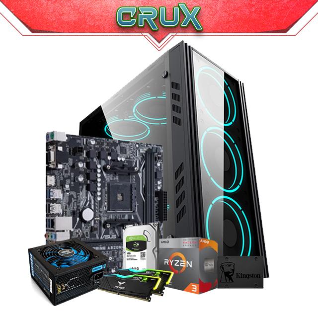 PC Gamer Crux AMD