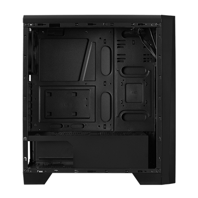 Gabinete Aerocool Cylon RGB, Negro, Panel de Acrilico