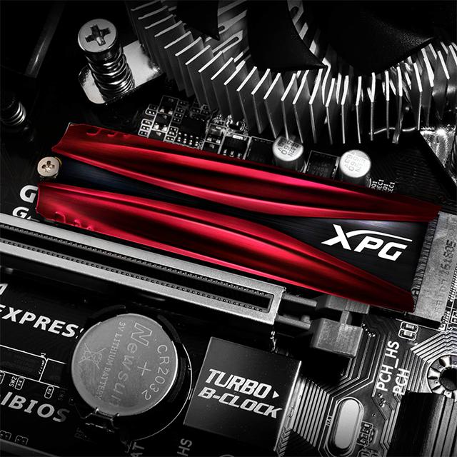 Unidad de Estado Solido SSD NVMe M.2 Adata XPG Gammix S11 Pro, 256GB, 3500/3000, PCI Express 3.0 - AGAMMIXS11P-256GT-C