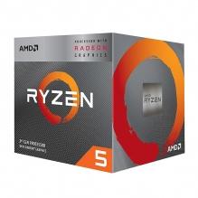 Procesador AMD Ryzen 5 3400G, 4 Cores, 8 Threads, Radeon Vega 11 Graphics, 3.7Ghz Base, 4.2Ghz Max, Socket AM4, Wraith Spire - (Venta Exclusiva en ensamble, no para su venta individual).